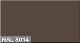 """Фото 10 - Колеровка  1 доза по цвету RAL/РАЛ 8014 Сепия коричневый (база """"С"""", на 0,9л краски)."""