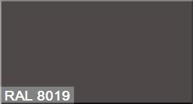 """Фото 14 - Колеровка  1 доза по цвету RAL/РАЛ 8019 Серо-коричневый (база """"С"""", на 0,9л краски)."""