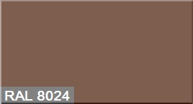 """Фото 32 - Колеровка  1 доза по цвету RAL/РАЛ 8024 Бежево-коричневый (база """"С"""", на 0,9л краски)."""