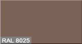 """Фото 34 - Колеровка  1 доза по цвету RAL/РАЛ 8025 Бледно-коричневый (база """"С"""", на 0,9л краски)."""