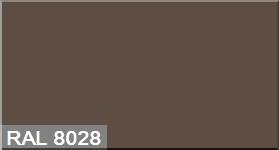 """Фото 36 - Колеровка  1 доза по цвету RAL/РАЛ 8028 Терракотовый (база """"С"""", на 0,9л краски)."""