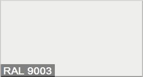 """Фото 3 - Колеровка  1 доза по цвету RAL/РАЛ 9003 Сигнальный белый (база """"А"""", на 0,9л краски)."""