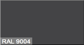 """Фото 4 - Колеровка  1 доза по цвету RAL/РАЛ 9004 Сигнальный черный (база """"С"""", на 0,9л краски)."""