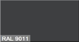 """Фото 7 - Колеровка  1 доза по цвету RAL/РАЛ 9011 Графитно-чёрный (база """"С"""", на 0,9л краски)."""