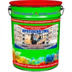 """Фото 10 - Грунт-пропитка """"Протексил-2MS"""" упрочняющая полиуретановая для бетонных полов 2К """"КрасКо"""" 10л-20л (Бесцветная)."""