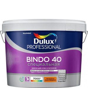 """Фото 10 - Краска """"Dulux"""" Биндо 40 (Bindo 40) акриловая полуглянцевая для стен и потолков """"AkzoNobel""""."""