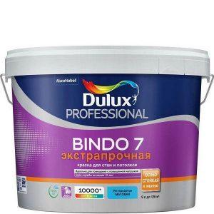 """Фото 11 - Краска """"Dulux"""" Биндо 7 (Bindo 7) экстрапрочная акриловая матовая интерьерная """"AkzoNobel""""."""