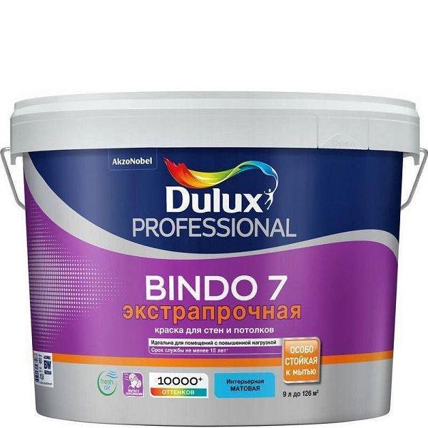 """Фото 1 - Краска """"Dulux"""" Биндо 7 (Bindo 7) экстрапрочная акриловая матовая интерьерная """"AkzoNobel""""."""