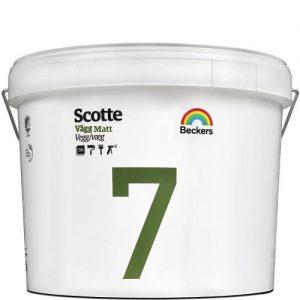 """Фото 11 - Краска """"Скотти 7"""" (Scotte 7) экологичная латексная матовая для стен и потолков """"Беккерс/Beckers""""."""
