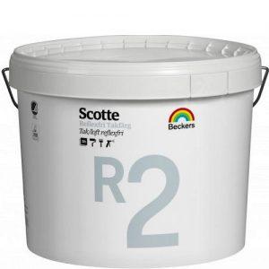 "Фото 12 - Краска ""Скотти Р2 Тагфарг"" (Scotte R2 Tagfarg латексная антибликовая интерьерная ""Беккерс/Beckers""."