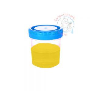 """Фото 20 - Колеровка  1 доза по цвету RAL/РАЛ 1023 Транспортно-жёлтый (база """"С"""", на 0,9л краски)."""