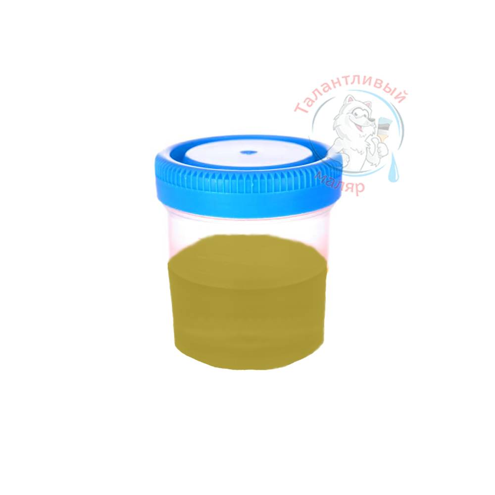 """Фото 22 - Колеровка  1 доза по цвету RAL/РАЛ 1027 Карри жёлтый (база """"С"""", на 0,9л краски)."""