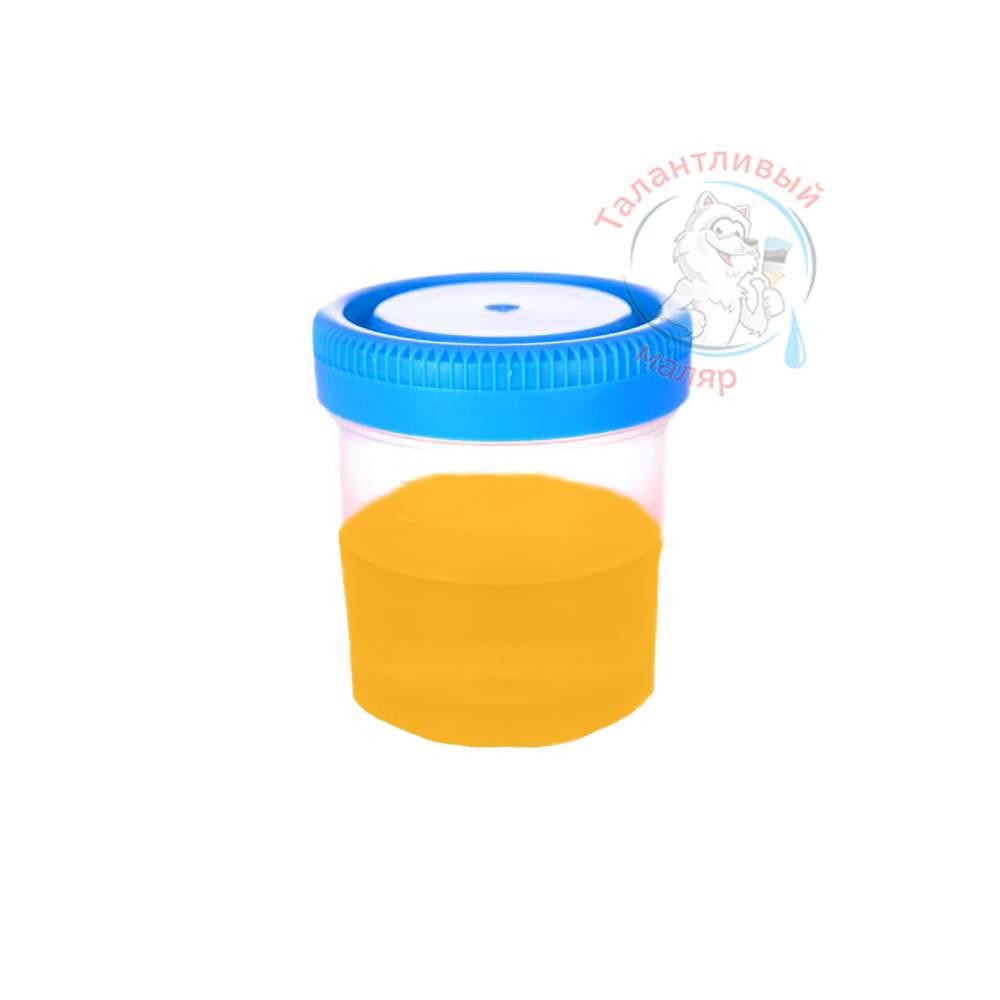 """Фото 23 - Колеровка  1 доза по цвету RAL/РАЛ 1028 Жёлтая дыня (база """"С"""", на 0,9л краски)."""