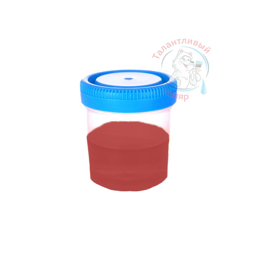 "Фото 2 - Колеровка  1 доза по цвету RAL/РАЛ 3000 Огненно-красный (база ""С"", на 0,9л краски)."
