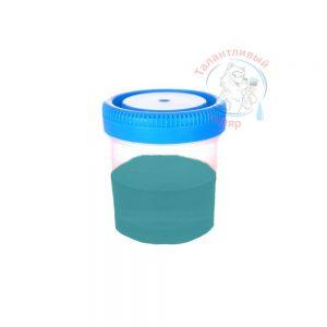 """Фото 34 - Колеровка  1 доза по цвету RAL/РАЛ 5018 Бирюзово-синий (база """"С"""", на 0,9л краски)."""