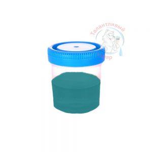 """Фото 40 - Колеровка  1 доза по цвету RAL/РАЛ 5021 Водянисто-синий (база """"С"""", на 0,9л краски)."""