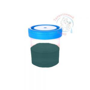 """Фото 10 - Колеровка  1 доза по цвету RAL/РАЛ 6004 Сине-зеленый (база """"С"""", на 0,9л краски)."""