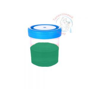 """Фото 48 - Колеровка  1 доза по цвету RAL/РАЛ 6024 Транспортный зелёный (база """"С"""", на 0,9л краски)."""