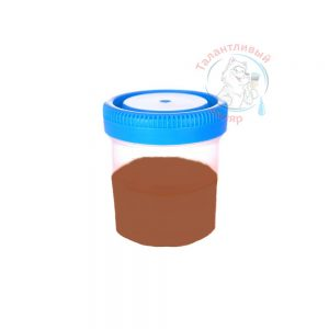 """Фото 10 - Колеровка  1 доза по цвету RAL/РАЛ 8004 Медно-коричневый (база """"С"""", на 0,9л краски)."""