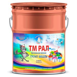"""Фото 14 - TM3016 Грунт-Эмаль """"ТМ РАЛ"""" уретано-алкидная 3 в 1 цвет RAL 3016 Кораллово-красный, антикоррозионная,  полуглянцевая для черных металлов, 20 кг """"Талантливый маляр""""."""