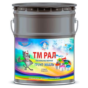 """Фото 12 - TM7012 Грунт-Эмаль """"ТМ РАЛ"""" уретано-алкидная 3 в 1 цвет RAL 7012 Серый базальт, антикоррозионная,  полуглянцевая для черных металлов, 20 кг """"Талантливый маляр""""."""