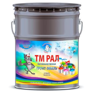 """Фото 22 - TM7031 Грунт-Эмаль """"ТМ РАЛ"""" уретано-алкидная 3 в 1 цвет RAL 7031 Сине-серый, антикоррозионная,  полуглянцевая для черных металлов, 20 кг """"Талантливый маляр""""."""