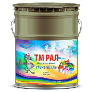 """Фото 14 - TM6013 Грунт-Эмаль """"ТМ РАЛ"""" уретано-алкидная 3 в 1 цвет RAL 6013 Зеленый тростник, антикоррозионная,  полуглянцевая для черных металлов, 20 кг """"Талантливый маляр""""."""