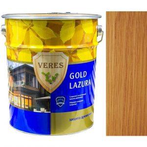 """Фото 4 - Пропитка """"Верес Голд Лазура"""" №17 Золотой бор, глянцевая для древесины """"Veres Gold lazura""""."""