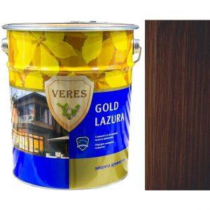 """Фото 10 - Пропитка """"Верес Голд Лазура"""" №9 Палисандр, глянцевая для древесины """"Veres Gold lazura""""."""
