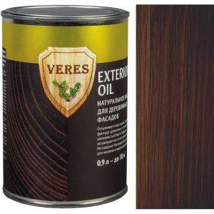 """Фото 6 - Масло """"Верес Ойл  Экстерьер"""" №9 Палисандр, полуматовое для деревянных фасадов """"Veres Oil exterior""""."""