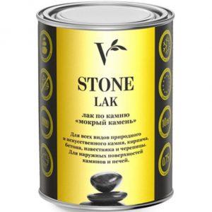 """Фото 1 - Лак """"Верес Стоун Лак"""" акриловый """"Мокрый камень"""" для каминов и печей """"Veres Stone Lak""""."""