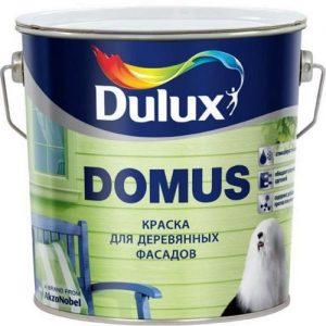 Фото 1 - Краска Дулюкс Домус (Domus) масляно-алкидная полуглянцевая для деревянных фасадов база BС [9л] Dulux.