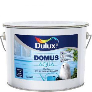 Фото 8 - Краска Дулюкс Домус Аква (Domus Aqua) полуматовая для деревянных фасадов база BW [10л] Dulux.