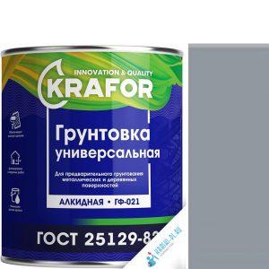 """Фото 6 - Грунт Крафор """"ГФ-021 Серый"""" алкидный универсальный  [20кг] Krafor."""