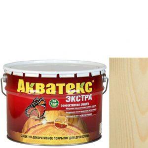 Фото 6 - Антисептик пропитка Акватекс Экстра Бесцветный, защитно-декоративный полуглянцевый для древесины [9 л] Рогнеда.
