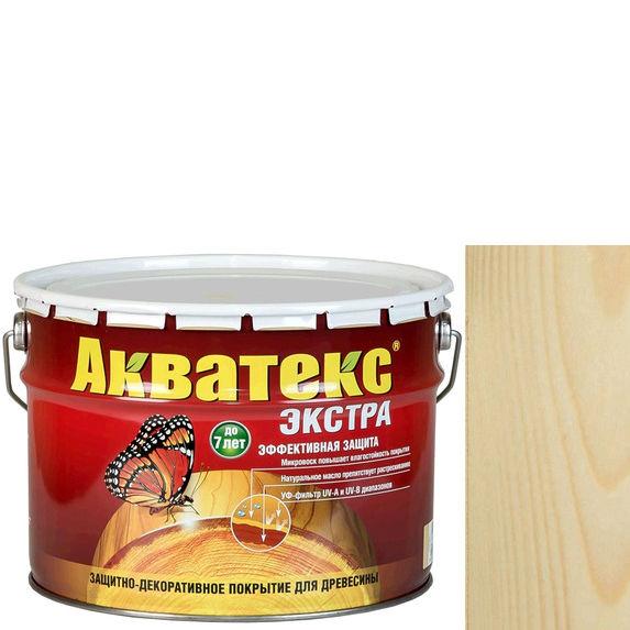 Фото 2 - Антисептик Акватекс Экстра Бесцветный, защитно-декоративный полуглянцевый для древесины [9 л] Рогнеда.