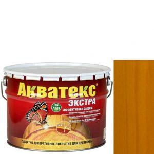 Фото 5 - Антисептик пропитка Акватекс Экстра Дуб, защитно-декоративный полуглянцевый для древесины [10 л] Рогнеда.