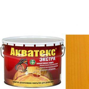 Фото 6 - Антисептик пропитка Акватекс Экстра Калужница, защитно-декоративный полуглянцевый для древесины [10 л] Рогнеда.