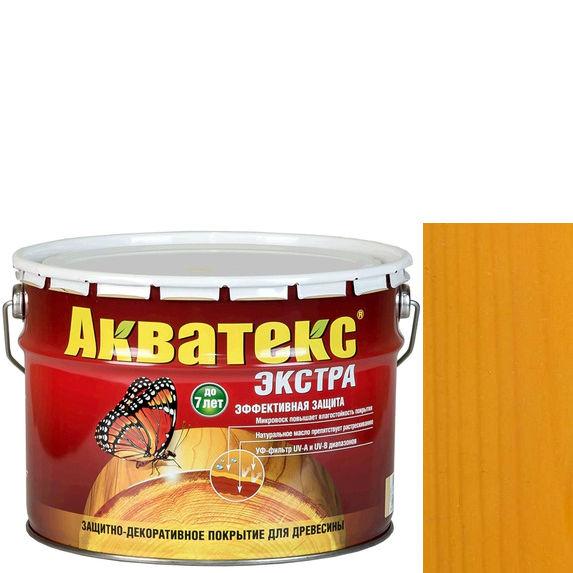 Фото 6 - Антисептик Акватекс Экстра Калужница, защитно-декоративный полуглянцевый для древесины [10 л] Рогнеда.