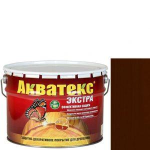 Фото 7 - Антисептик пропитка Акватекс Экстра Каштан, защитно-декоративный полуглянцевый для древесины [10 л] Рогнеда.