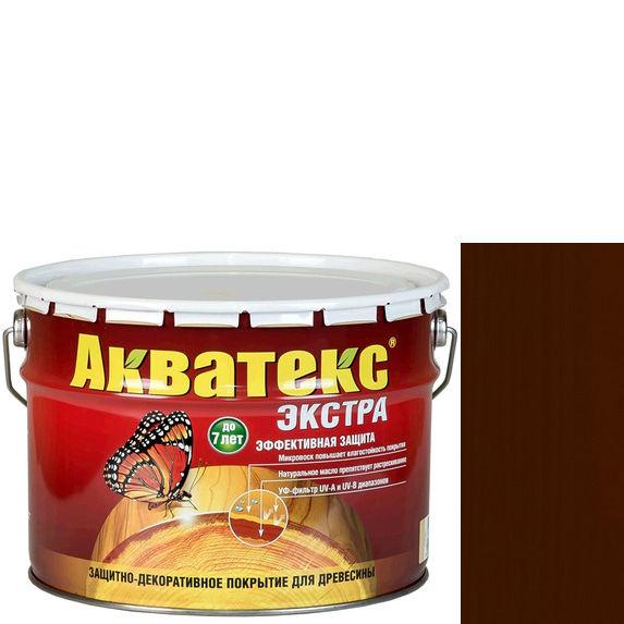 Фото 7 - Антисептик Акватекс Экстра Каштан, защитно-декоративный полуглянцевый для древесины [10 л] Рогнеда.