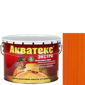 Фото 10 - Антисептик пропитка Акватекс Экстра Орегон, защитно-декоративный полуглянцевый для древесины [10 л] Рогнеда.