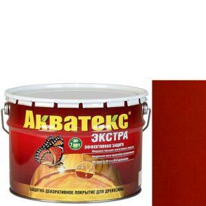 Фото 13 - Антисептик пропитка Акватекс Экстра Рябина, защитно-декоративный полуглянцевый для древесины [10 л] Рогнеда.