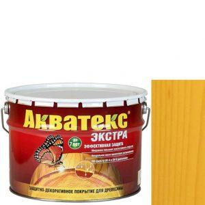 Фото 14 - Антисептик пропитка Акватекс Экстра Сосна, защитно-декоративный полуглянцевый для древесины [10 л] Рогнеда.