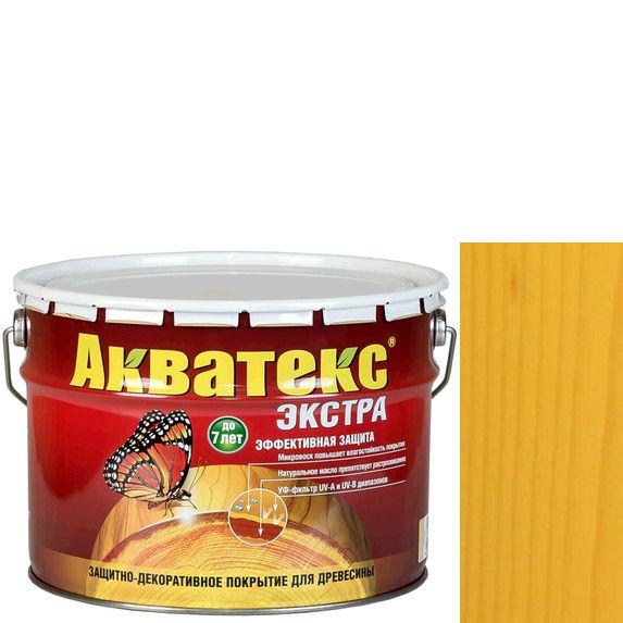 Фото 14 - Антисептик Акватекс Экстра Сосна, защитно-декоративный полуглянцевый для древесины [10 л] Рогнеда.