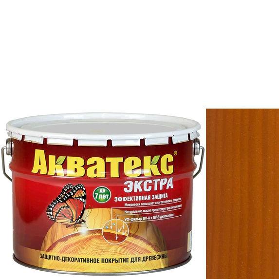 Фото 15 - Антисептик Акватекс Экстра Тик, защитно-декоративный полуглянцевый для древесины [10 л] Рогнеда.