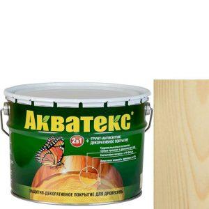 Фото 3 - Антисептик пропитка Акватекс Бесцветный, защитно-декоративный полуглянцевый для древесины [18 л] Рогнеда.