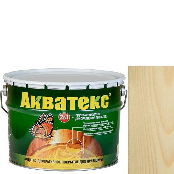 Фото 3 - Антисептик Акватекс Бесцветный, защитно-декоративный полуглянцевый для древесины [18 л] Рогнеда.