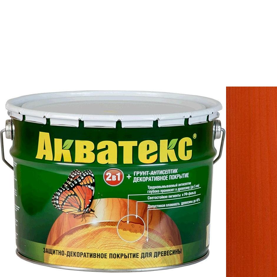 Фото 24 - Антисептик Акватекс Рябина, защитно-декоративный полуглянцевый для древесины [10 л] Рогнеда.