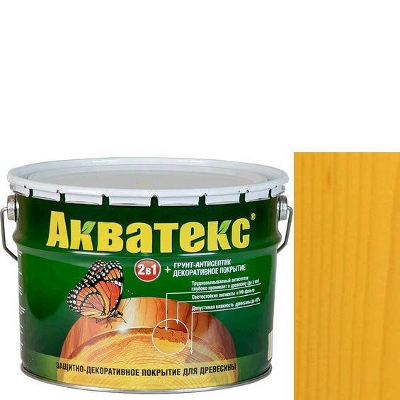 Фото 1 - Антисептик пропитка Акватекс Сосна, защитно-декоративный полуглянцевый для древесины [10 л] Рогнеда.